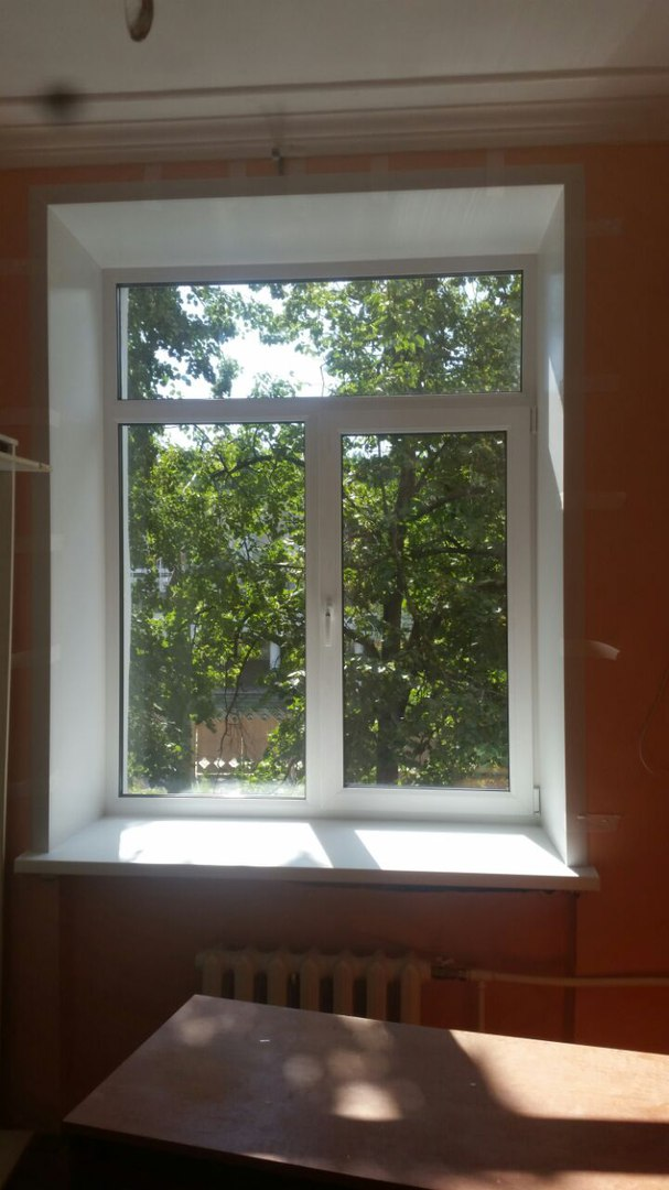 пластиковое окно под ключ