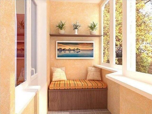 Застекленный балкон - светло, сухо и тепло