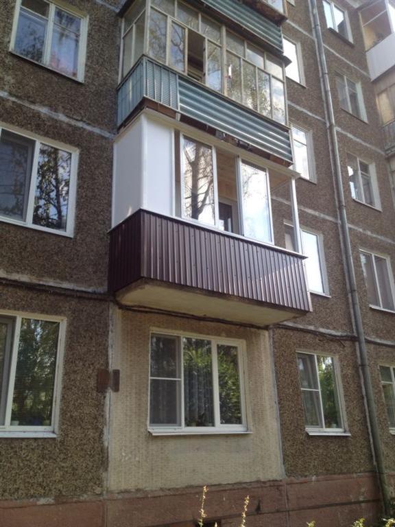 остекление балкона в хрущевке